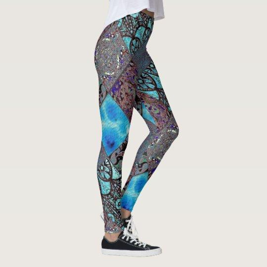 Pattern Collage Leggings