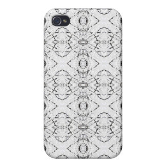 Pattern Collection White/blk iPhone 4/4S Covers