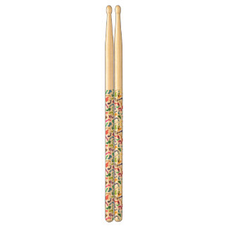 Pattern colorful Women's shoes Drumsticks