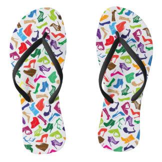 Pattern colorful Women's shoes Flip Flops