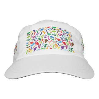Pattern colorful Women's shoes Hat