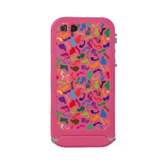 Pattern colorful Women's shoes Incipio ATLAS ID™ iPhone 5 Case