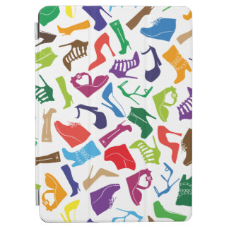 Pattern colorful Women's shoes iPad Air Cover