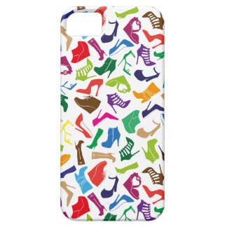 Pattern colorful Women's shoes iPhone 5 Cover