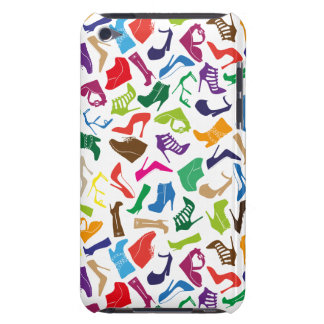 Pattern colorful Women's shoes iPod Case-Mate Case