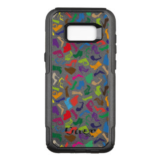 Pattern colorful Women's shoes OtterBox Commuter Samsung Galaxy S8+ Case