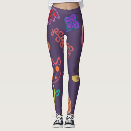 Pattern Custom Leggings