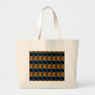 Pattern D Large Tote Bag