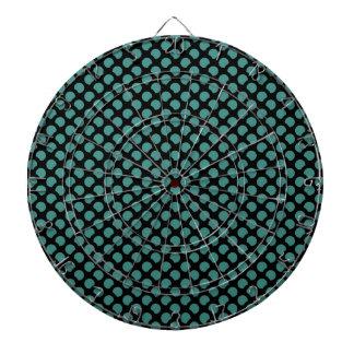 Pattern Dartboard With Darts