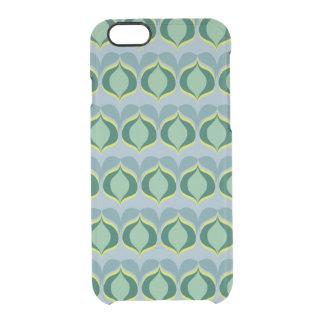 pattern design clear iPhone 6/6S case