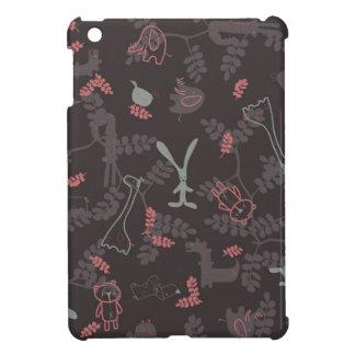 pattern displaying baby animals 1 iPad mini cases