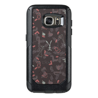 pattern displaying baby animals 1 OtterBox samsung galaxy s7 case