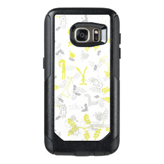 pattern displaying baby animals 2 OtterBox samsung galaxy s7 case