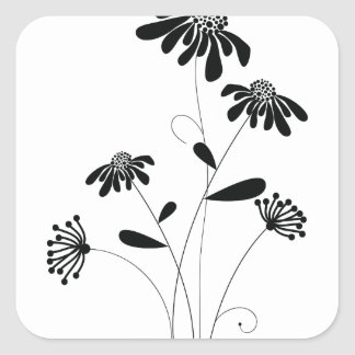 Pattern E Square Sticker