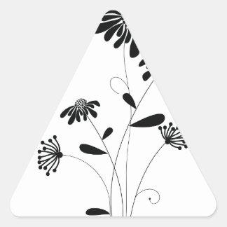 Pattern E Triangle Sticker