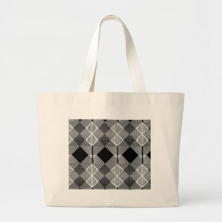 Pattern F Large Tote Bag