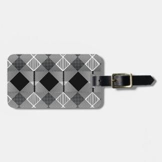 Pattern F Luggage Tag