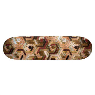 Pattern Factory 23 brown Skateboard Decks