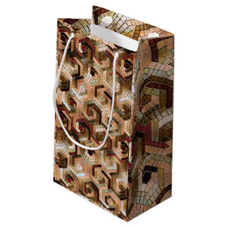 Pattern Factory 23 brown Small Gift Bag