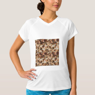 Pattern Factory 23 brown T-Shirt