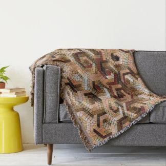 Pattern Factory 23 brown Throw Blanket