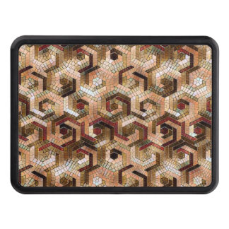 Pattern Factory 23 brown Trailer Hitch Cover