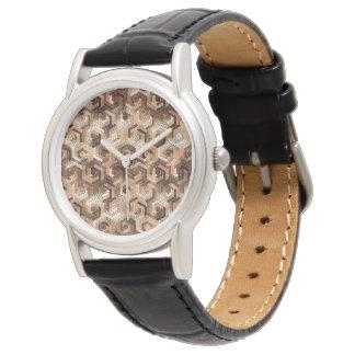 Pattern Factory 23 brown Watch