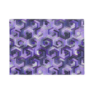 Pattern Factory 23 putple Doormat