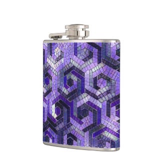 Pattern Factory 23 putple Hip Flask