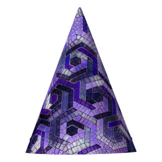 Pattern Factory 23 putple Party Hat
