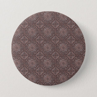 pattern factory, vintage 1A 3 Inch Round Button
