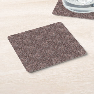 pattern factory, vintage 1A Square Paper Coaster