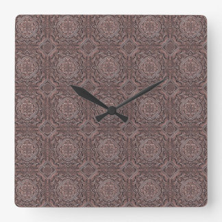 pattern factory, vintage 1A Square Wall Clock