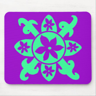 Pattern Flower mouse pad