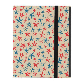 Pattern for 4th of July iPad Case