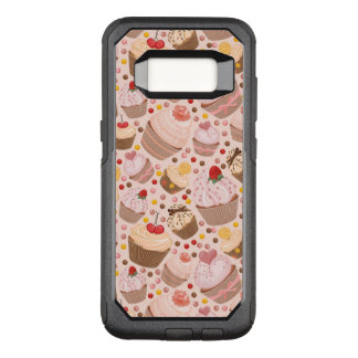 Pattern from celebratory cupcakes OtterBox commuter samsung galaxy s8 case