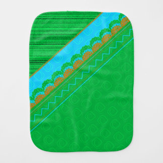Pattern Fun Burp Cloth