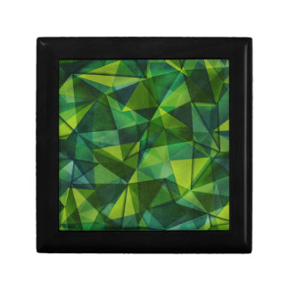 pattern green gift boxes
