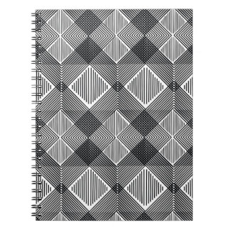 pattern I Spiral Notebook