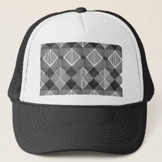 pattern I Trucker Hat