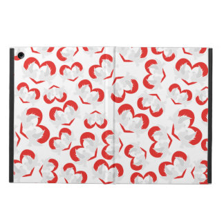 Pattern illustration peace doves with heart iPad air cover