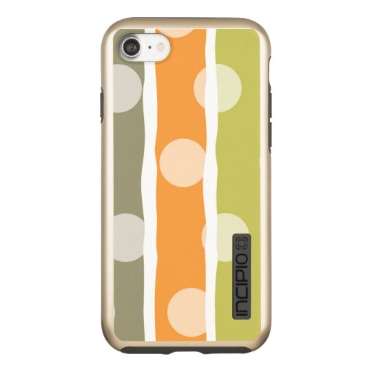 Pattern iPhone 7 DualPro Shine, Gold Incipio DualPro Shine iPhone 8/7 Case