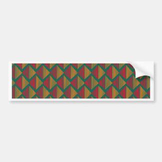 pattern K Bumper Sticker
