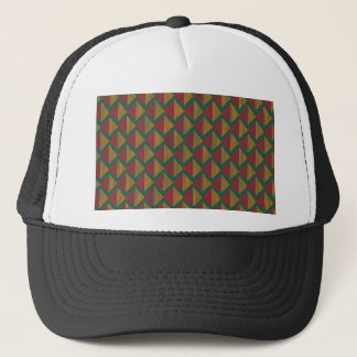 pattern K Trucker Hat
