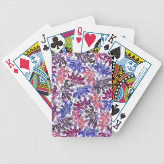 pattern L Bicycle Playing Cards