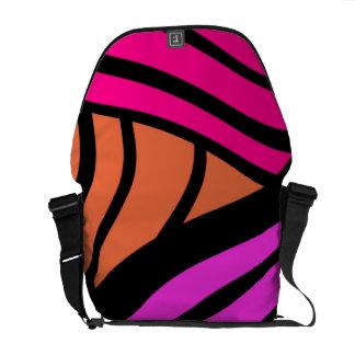 pattern messenger bags