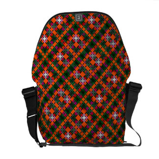 pattern courier bags