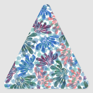 pattern N Triangle Sticker
