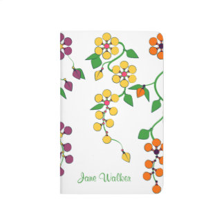 Pattern NO.2: Hanging Flowers Customized Journal