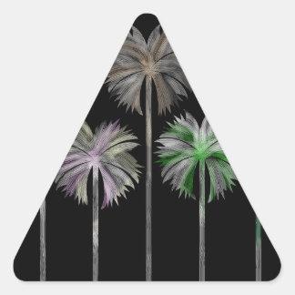 Pattern O Triangle Sticker